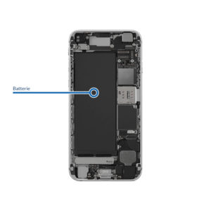 battery 6s 300x300 - Réparation batterie pour iPhone 6S Plus