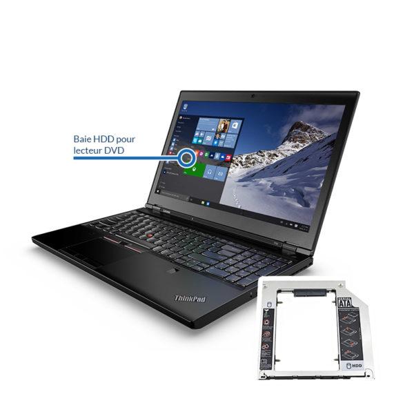 bay lenovo 600x600 - Remplacement du lecteur DVD par un disque dur HDD ou SSD