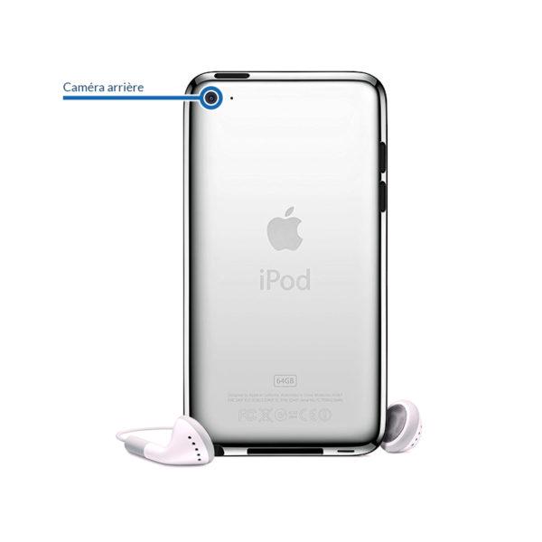 camera itouch4 600x600 - Réparation caméra arrière pour iPod Touch 4