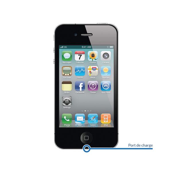 dock 4 600x600 - Réparation port de charge pour iPhone 4