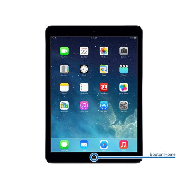 home ipadair1 600x600 - Réparation bouton Home pour iPad Air