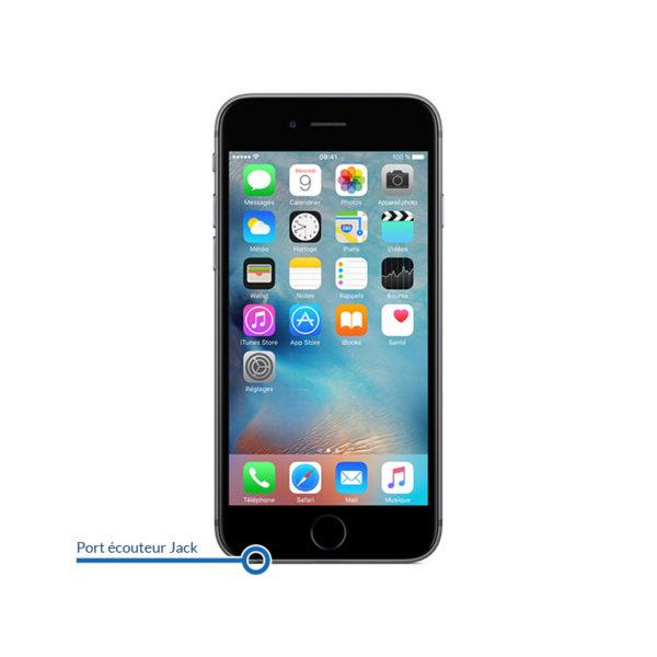 jack 6s 600x600 - Réparation port jack / casque pour iPhone 6S Plus