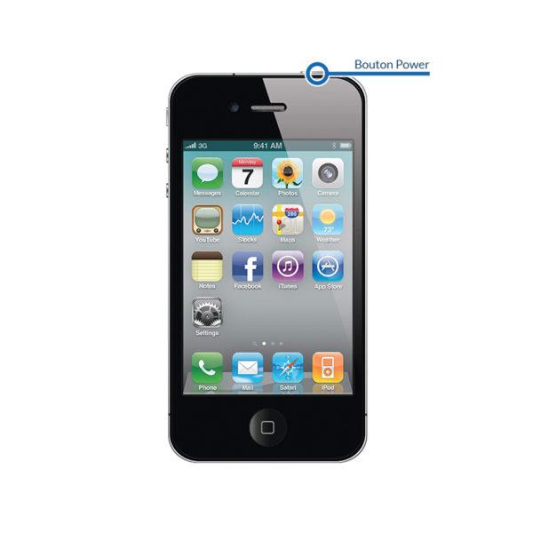 power 4 600x600 - Réparation bouton Power - déverrouillage pour iPhone 4