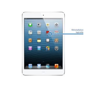 reinstall ipadmini1 300x300 - Réinstallation logicielle pour iPad Mini