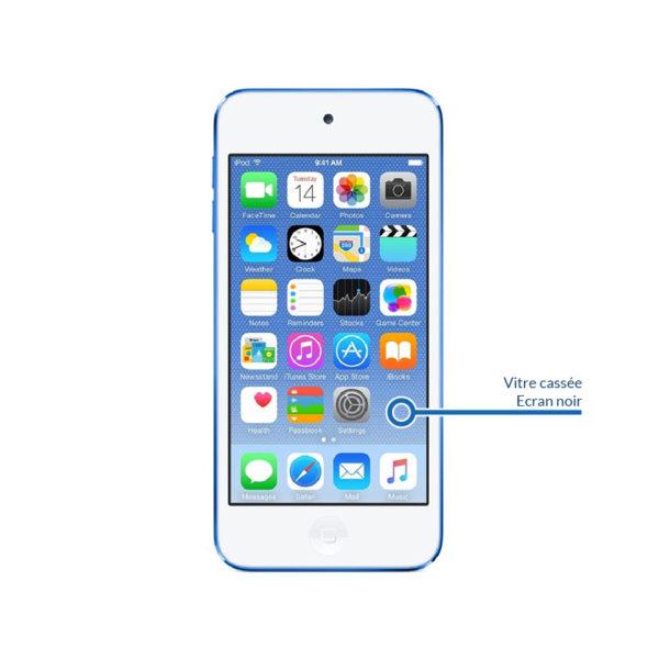 screen itouch5 600x600 - Remplacement vitre et écran LCD pour iPod Touch 5