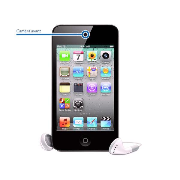 selfie itouch4 600x600 - Réparation caméra avant pour iPod Touch 4