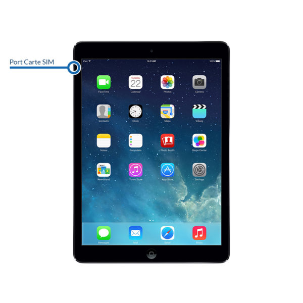 sim ipadair1 600x600 - Réparation port carte SIM pour iPad Air
