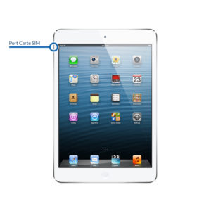sim ipadmini1 300x300 - Réparation port carte SIM pour iPad Mini