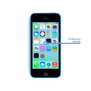 soft 5c 300x300 - Réinstallation - Configuration logicielle pour iPhone 5C