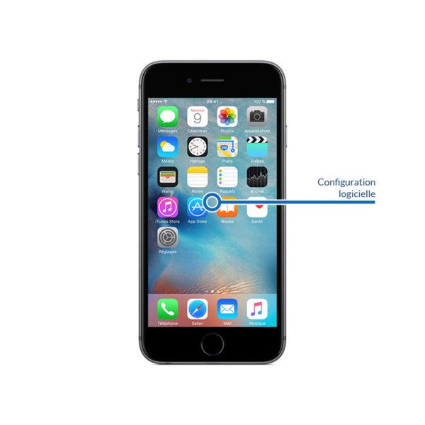 soft 6sjpg 600x600 - Réinstallation - Configuration logicielle pour iPhone 6S Plus