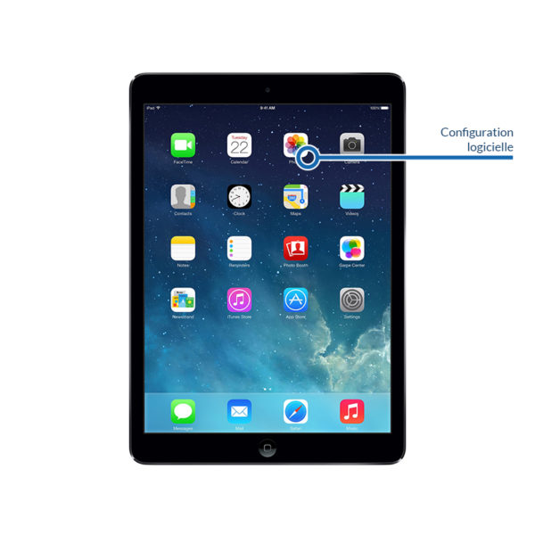 soft ipadair1 600x600 - Configuration logicielle pour iPad Air