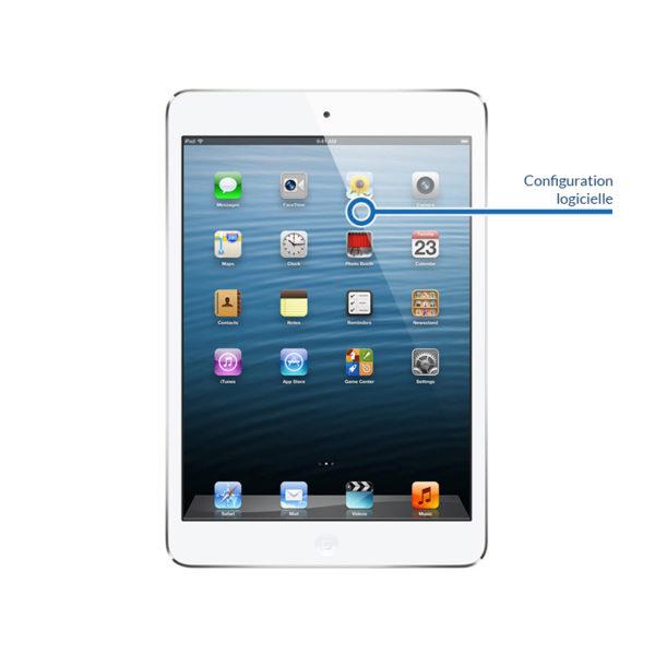 soft ipadmini1 600x600 - Configuration logicielle pour iPad Mini