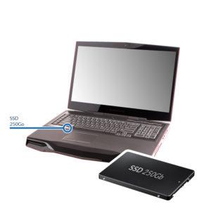 ssd250 alienware 300x300 - Installation d'un disque dur SSD - 250 Go