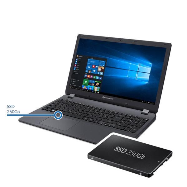 ssd250 packardbell 600x600 - Installation d'un disque dur SSD - 250 Go