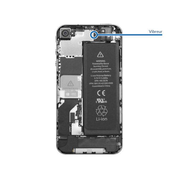 vibrator 4 600x600 - Réparation vibreur pour iPhone 4