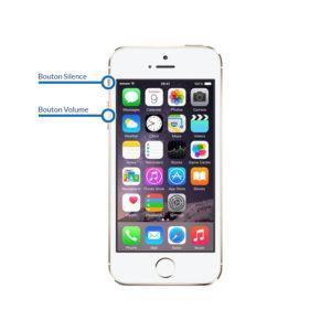 volume 5s 300x300 - Réparation bouton Volume - Silence pour iPhone 5S