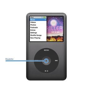 wheel ipod 300x300 - Réparation roulette cliquable pour iPod Classic