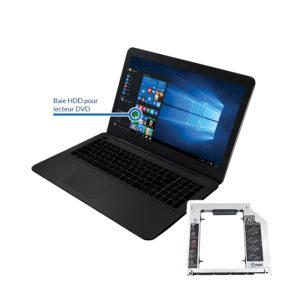 bay vaio 300x300 - Remplacement du lecteur DVD par un disque dur HDD ou SSD