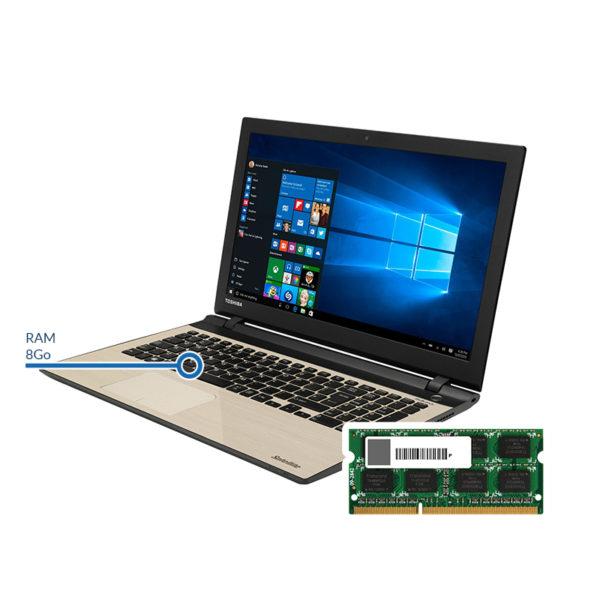 ram8 toshiba 600x600 - Ajout de RAM - 8 Go