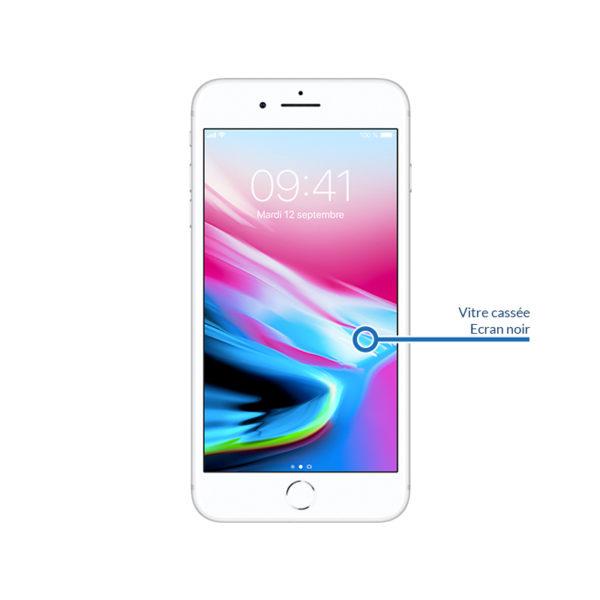i8 screen 1 600x600 - Remplacement écran LCD et vitre tactile pour iPhone 8 Plus